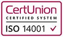 ISO 14001:2015 tanusitvany