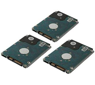 3x 8TB 7.2k 6Gbps SATA HDD NEW + Dell LFF HDD keret