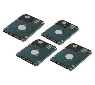 4x 8TB 7.2k 6Gbps SATA HDD NEW + Dell LFF HDD keret