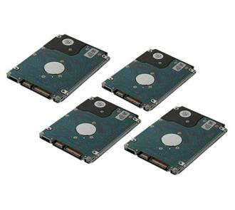 4x 1.2TB 10k 12Gbps SAS HDD NEW + Dell SFF HDD keret