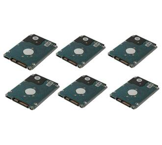 6x 2TB 7.2k 6Gbps NL SAS HDD NEW + HP LFF HDD keret