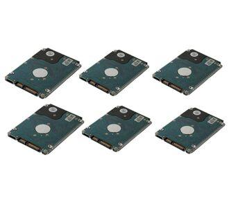6x 2TB 7.2k 6Gbps NL SAS HDD NEW + Dell LFF HDD keret
