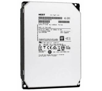 "HGST Ultrastar He8 HUH728080AL5200 256MB Cache 8TB NL SAS 12Gbps 7.2K RPM 512e 3.5"""