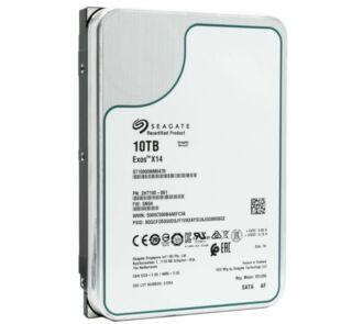 "Seagate Exos X14 ST100000NM0478 10TB SATA 256MB Cache 6Gbps 7.2K RPM 3.5"" NEW"