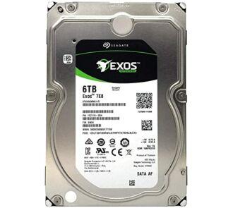 "Seagate Exos 7E8 Enterprise ST6000NM0115 6TB SATA 256MB Cache 6Gbps 7.2K RPM 3.5"" NEW"